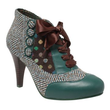 Love the library vibe coming from these heels. IRREGULAR CHOICE - Poetic Licence - Betseys Buttons - $160.00