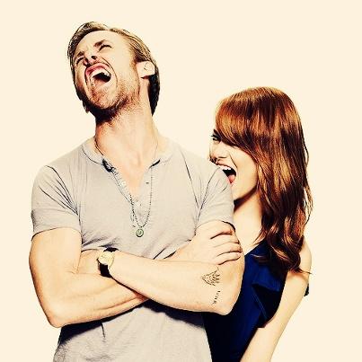 Emma Stone and Ryan Gosling OM GOSH!!!! They are so cute!!!!!