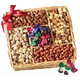 Broadway Basketeers Gourmet Sweet and Savory Nut Gift Basket (Grocery)By Broadway Basketeers