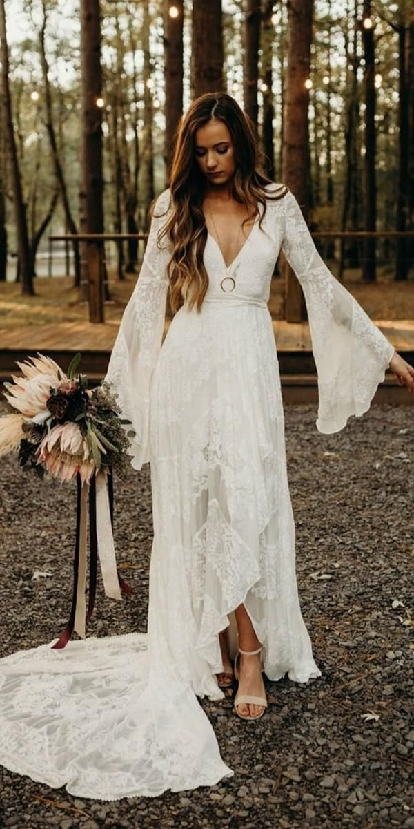 Bohemian Style Dresses For Weddings 56 Off Pbpgi Org