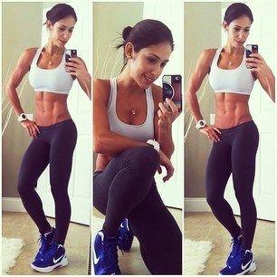 Bella Falconi ist eine Modellathletin, die es mit eisernem Training und gesunder Ernährung zur Fitness-Ikone gebracht hat. Die 28-jährige wieg bei 1,58 m 52 kg und hat dabei kein Gramm Fett zu viel am Körper.