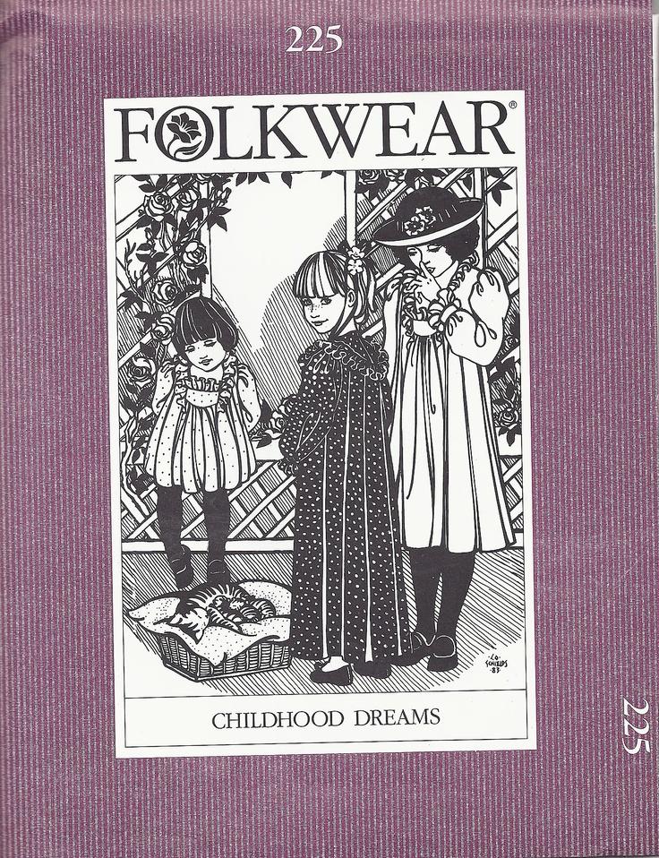 Folkwear 1983 Childhood Dreams Nightgown, Dress or Top Pattern #225   eBay