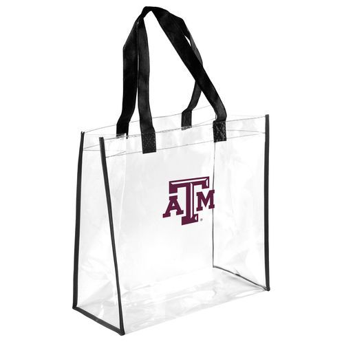 Team Beans Texas A&M University Clear Reusable Bag