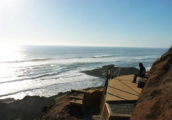 智利塔尔卡观景平台