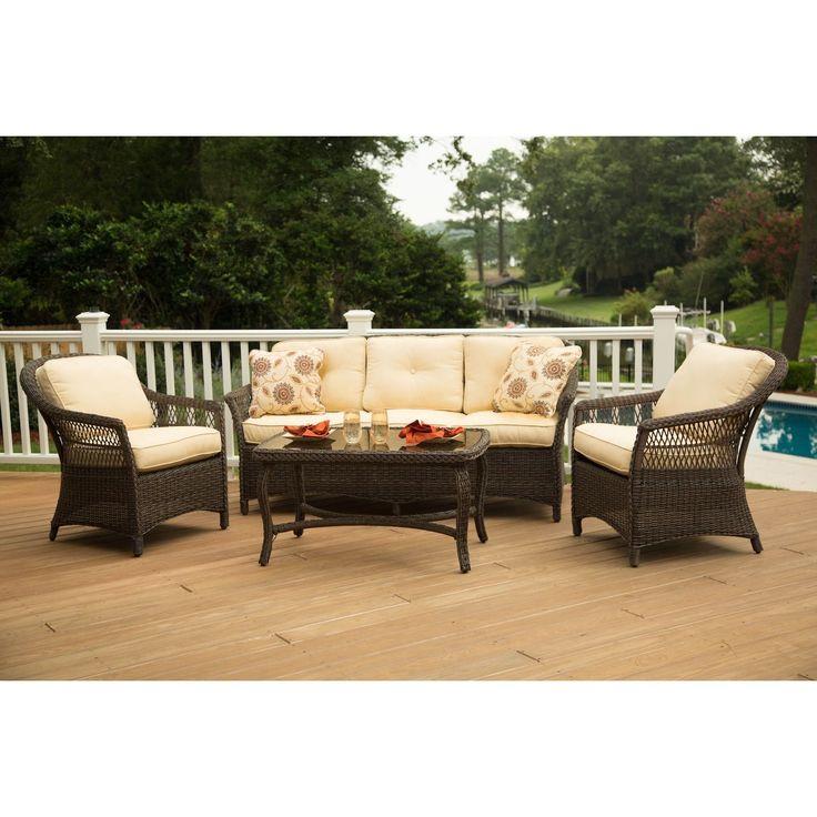 Good Agio Charlotte Seating Group , Patio Furniture