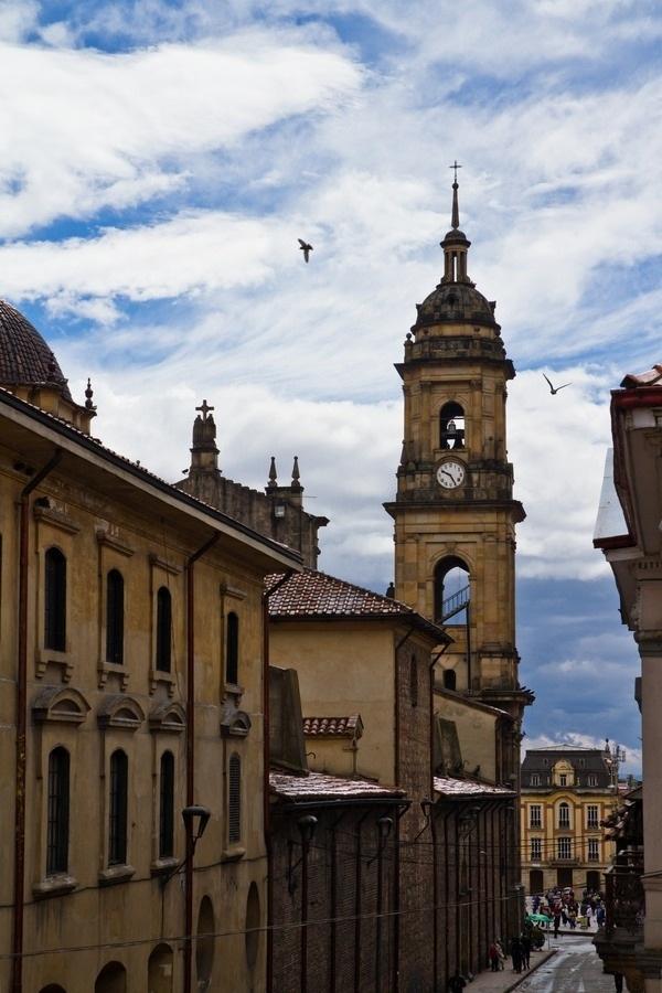 La Catedral Primada de Bogotá, La Candelaria, Bogota Colombia