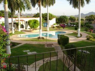 The pool at Condominios Pilar