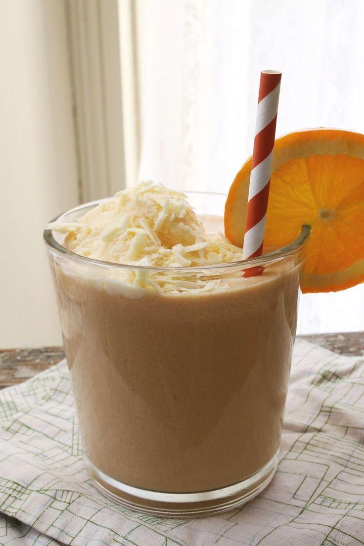 Boozy Orange White Chocolate Float