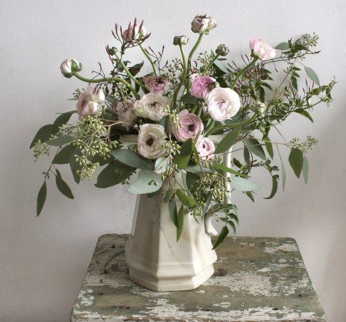 It's like an English Garden in a bouquet.  I LOVE this arrangement.  Stunning for any occasion.