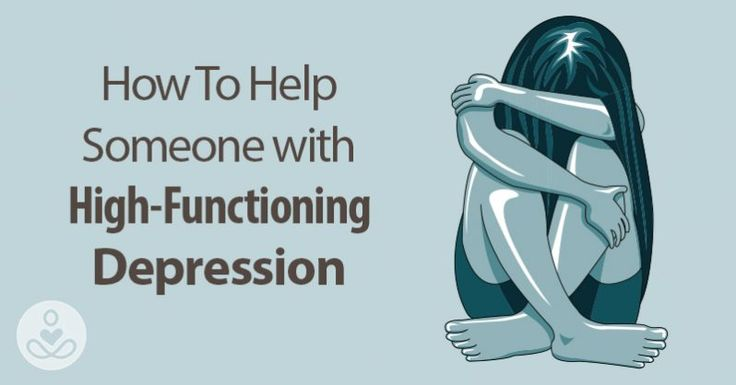 When someone is depressed, you can usually tell. But high-functioning depression isn't always clear, which makes it difficult to get your loved ones help.
