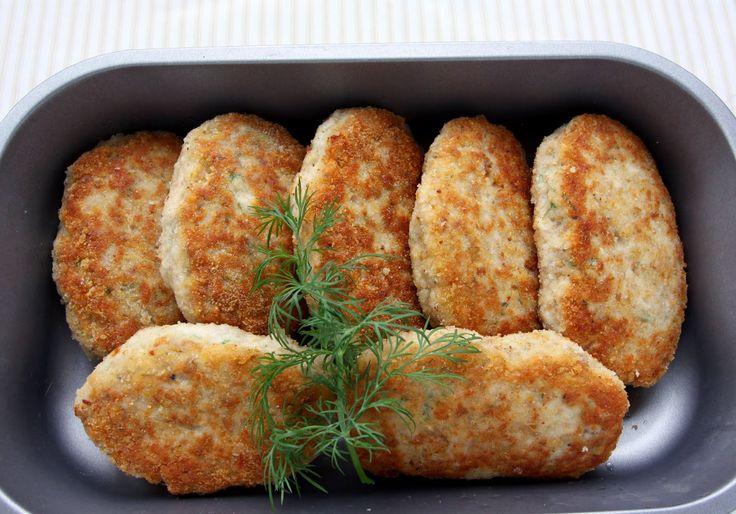 Codziennik Kuchenny - proste przepisy na niecodzienne potrawy: Kotlety à la Pożarski (kotlety pożarskie)