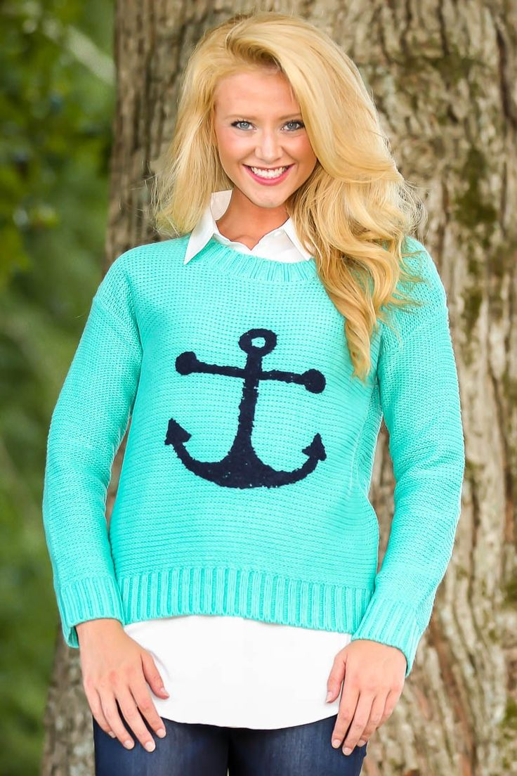 Anchored To You Sweater