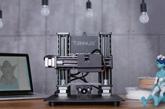 3万円台の格安3Dプリンターで木やアルミを出力&ヘッドを取り換えてレーザー加工機にもなる「TRINUS」 - GIGAZINE