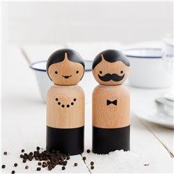 Produktbild Suck UK Mr & Mrs Salz- und Pfefferstreuer 3