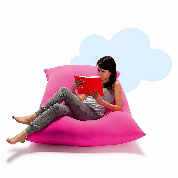 Comfortable pouf, ideal for lounge area. Flamboyant colours, nice shape and soft fabric. Reliable and durable materials.