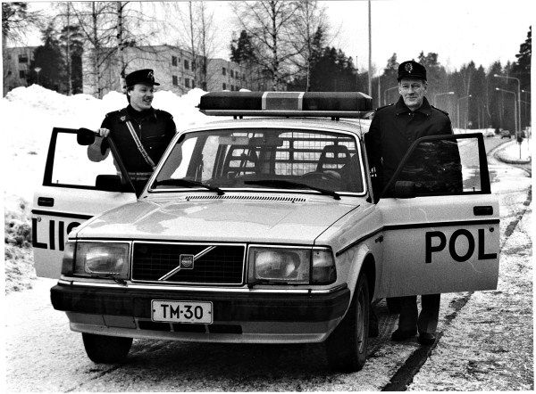 Volvo 245 GL Moscow Police