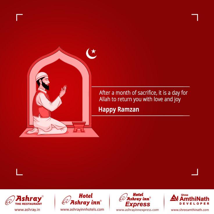 Ashray Group celebrates Ramzan Eid and spreads the love and happiness among all Muslim patrons. #RamzanMubarak #EidMubarak #AshrayRestaurantinAhmedabad #HotelAshrayInninAhmedabad #HotelAshrayInnExpressinAhmedabad
