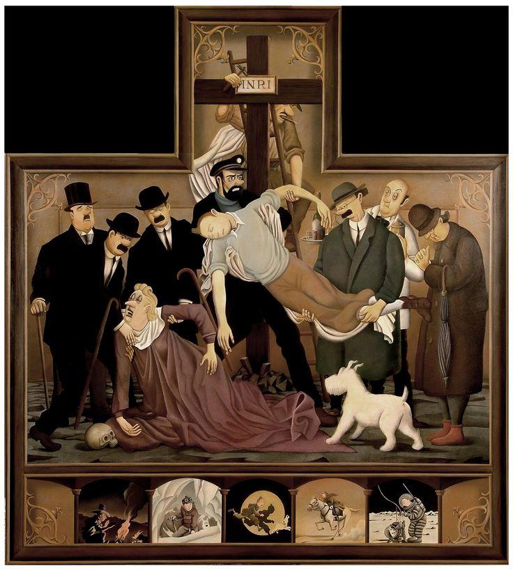 Fernando Bellver acerca las obras maestras del Renacimiento italiano, de la escuela flamenca y del Barroco español a todos aquellos que hemos pasado más horas delante del televisor que contemplando cuadros.