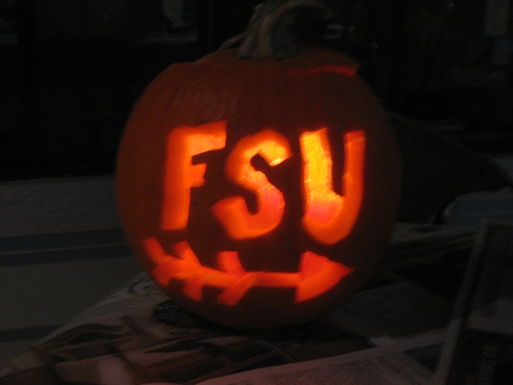 ...Carving pumpkins, FSU, and the Fall!