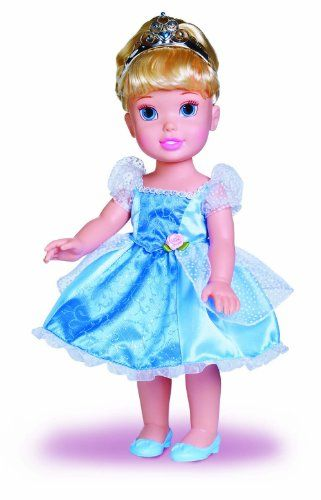 Disney Cinderella is part of My First Disney Princess collection. The perfect gift for you toddler.