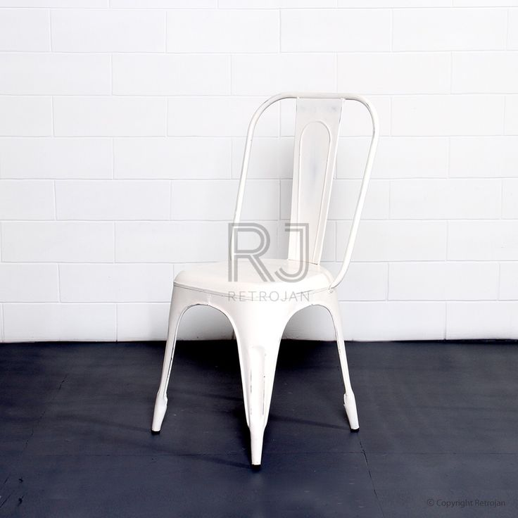 Frankie Cafe Dining Chairs - WHITE | $99.00