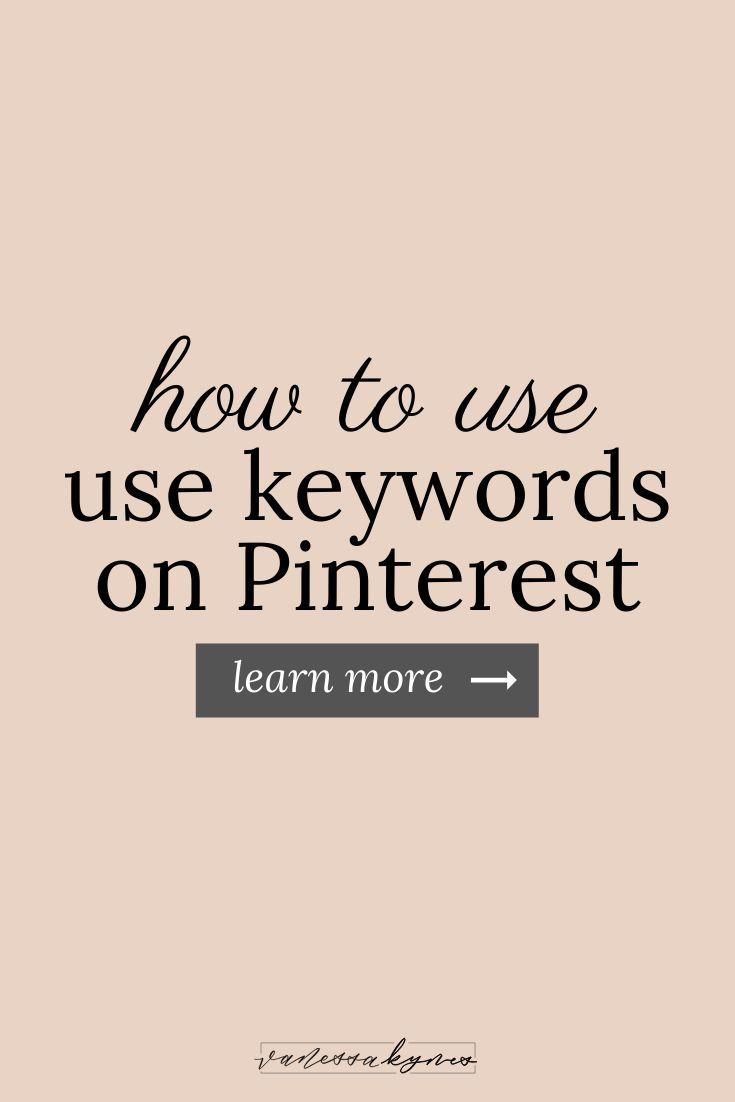 Warum sollten Sie Keywords auf Pinterest verwenden
