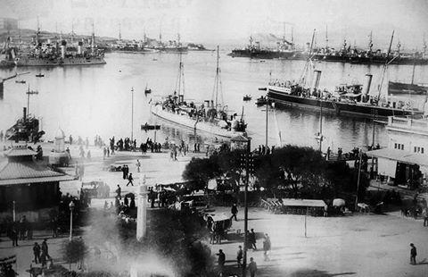 Πειραιάς 1900 - 1906; Φωτογράφος: Αναστάσιος Γαζιάδης [γεν. 1853 – † 1931]