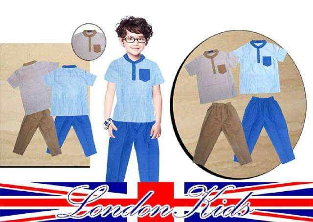 Setelan baju koko anak laki laki Lengan Pendek - http://keikidscorner.com/baju-anak-laki-laki/baju-setelan/setelan-baju-koko-anak-laki-laki-lengan-pendek.html
