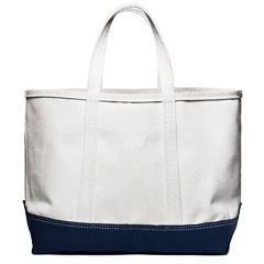 Canvas Carryall Bag (Navy)