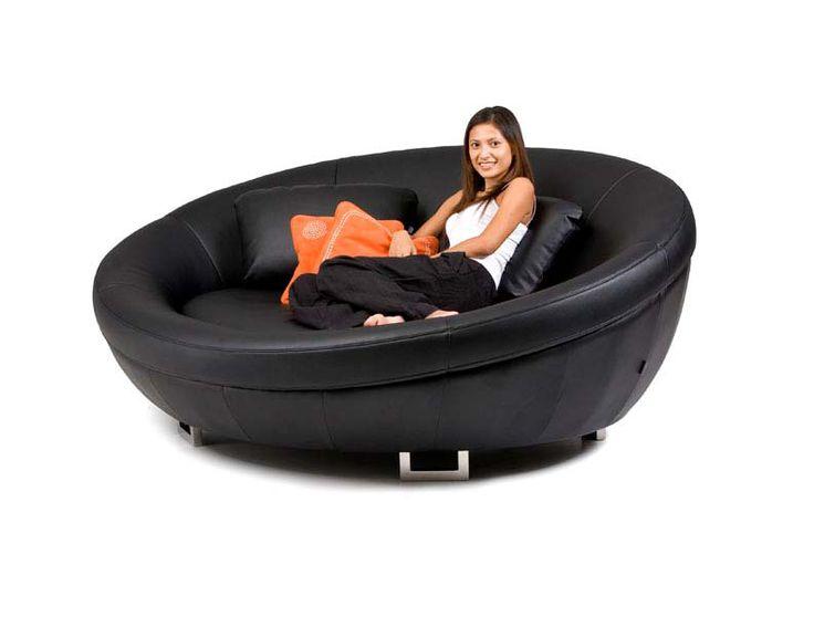 Cellini UFO Leather Sofa