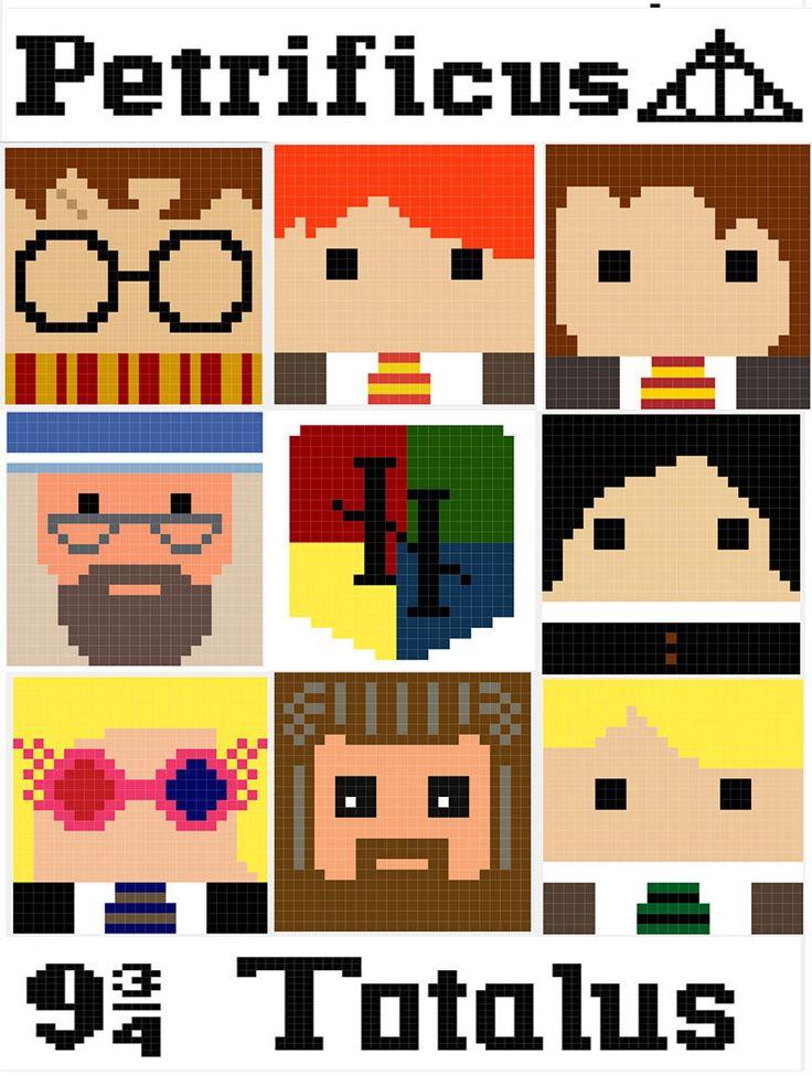 41 best CROCHET - Harry Potter Graphs images on Pinterest | Crochet ...