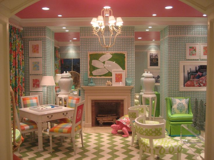 lilly pulitzer for lee jofa such an upbeat color story for kids or adults