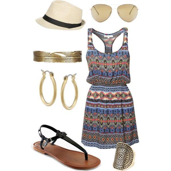 Roatan beach outfit