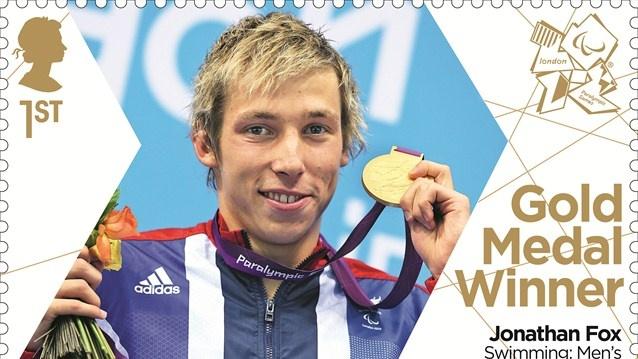 Jonathan Fox gold medal stamp