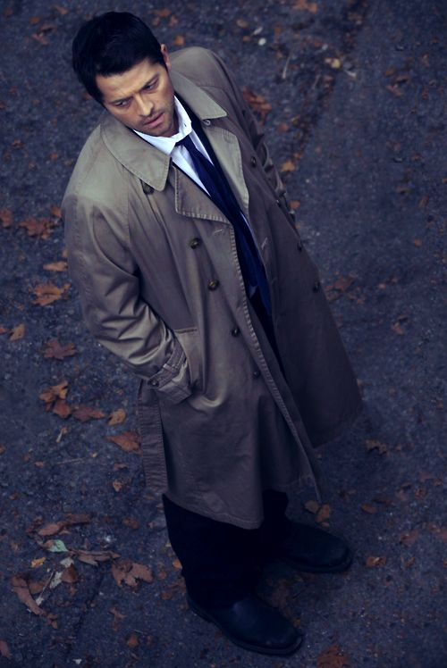 Castiel~This man is spectacular! My fav part of Supernatural is the swooshing wing sound when the angels depart the scene
