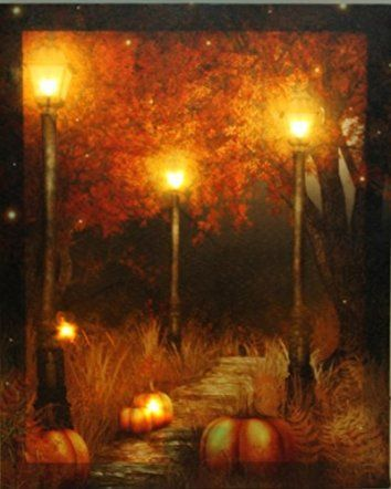 Oak Street Wholesale LED Lighted Pumpkin Fall Scene Canvas Wall Art Harvest  Thanksgiving decoration ideas are easy when you have the right thanksgiving decorative accent.  Consider combining Thanksgiving wall art, Thanksgiving accent pillows and other Thanksgiving home décor pieces can bring your home together.  You can create a warm and inviting home by using fall and Thanksgiving home décor in combination with your current home décor theme to create an unforgettable 2017 fall and…