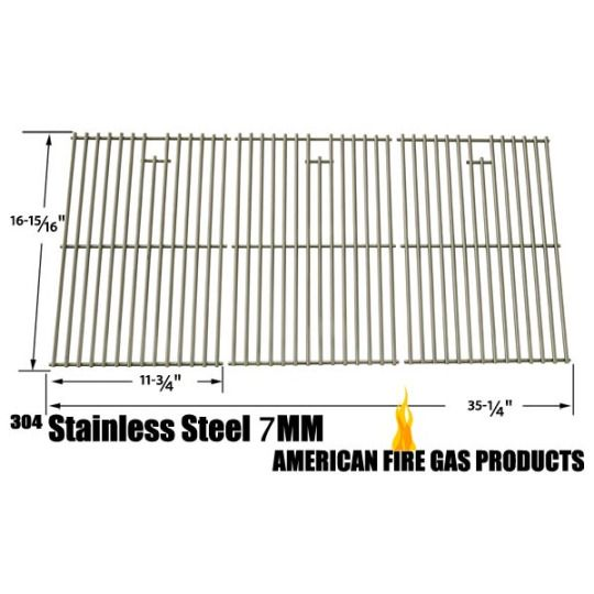 Master Chef Cooking Grid | Replacement Stainless Steel Cooking Grid For Master Chef 85-3008-4, Master Chef 85-3009-2, Master Chef T620lp, Master Chef T620ng, Master Chef G65001, Master Chef G 65002, Gas Grill Models