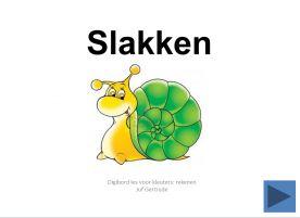 Digibordles slakken: tellen 1 tot en met 10    http://leermiddel.digischool.nl/po/leermiddel/58a25c4459ca60160345deb4536cc001?s=1.3