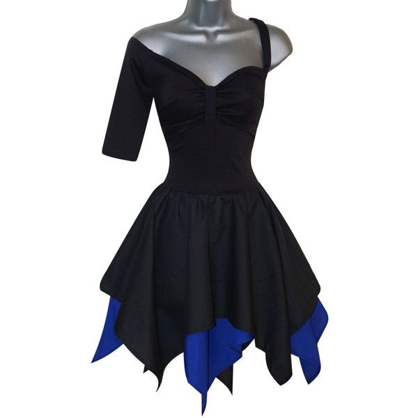 Hades Gothic Dress Costume (UK 10) (US 6) (EUR 38) Ladies Womens... ($58) ❤ liked on Polyvore featuring costumes, lady halloween costumes, gothic halloween costumes, goth halloween costumes, cosplay costumes and womens gothic costumes