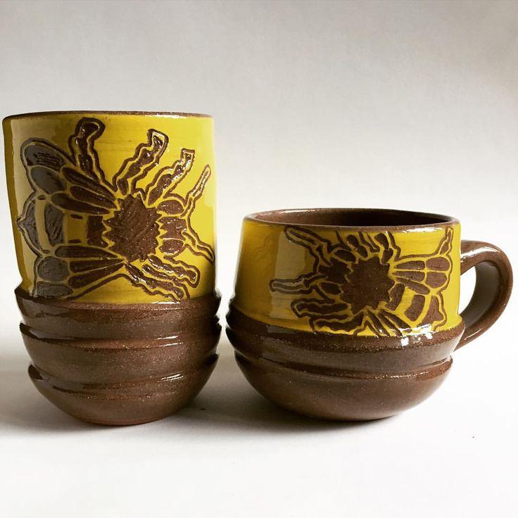 """Jen Pilon """"The Hive Ceramics"""" pottery"""
