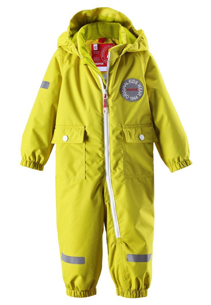 #ReimaAutumn2014 #Reima70 Kids overall Fangan yellow