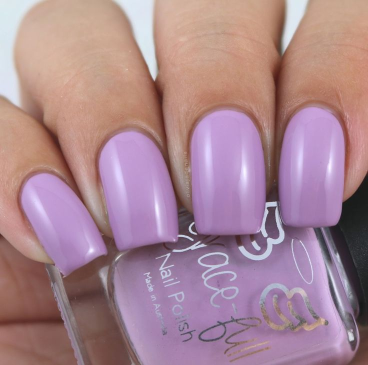 Grace-full Nail Polish Lavender Bouquet swatched by Olivia Jade Nails
