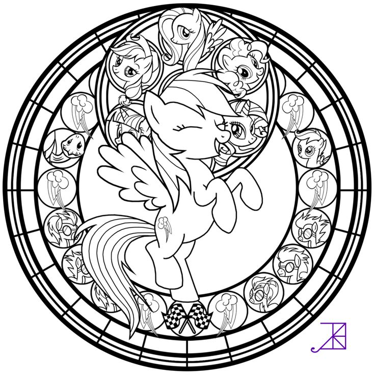 stained glass rarity line art by akili amethyst find this pin and more on my little pony