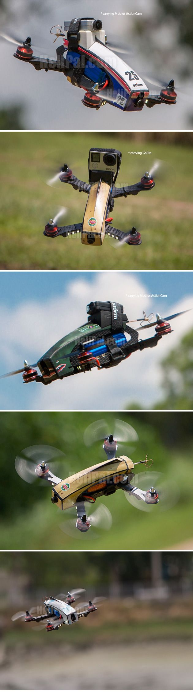 STORM Racing Drone (RTF / Kylin 250 Storm Edition)…