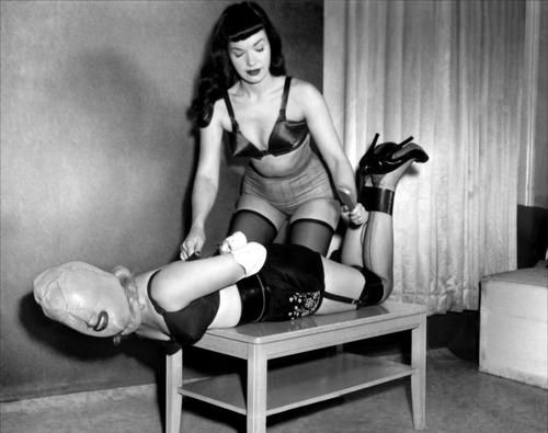 Irving Klaw, Bettie Page Bondage | Kink, Cheesecake and ...