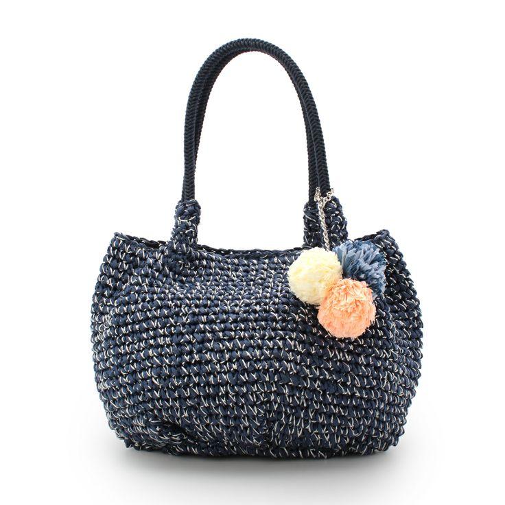 OPAQUE.CLIP crochet purse