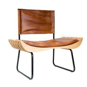 Krzesło Organique skóra naturalna