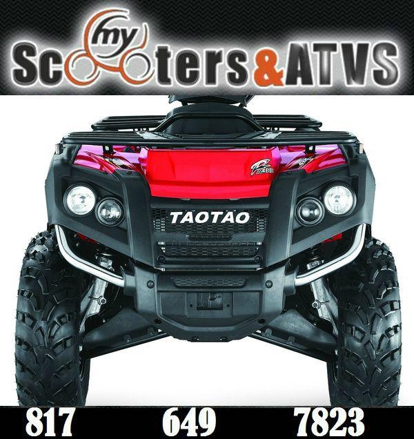 ADVANCE TAOTAO ATV 300CC 4X4 ATA 300F FREELANDER 4X4. Sale Price: $3,499.00