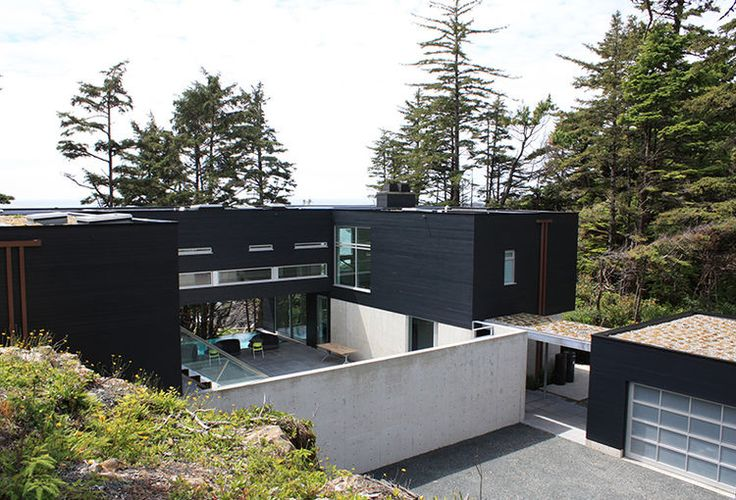 Giant prefab in British Columbia
