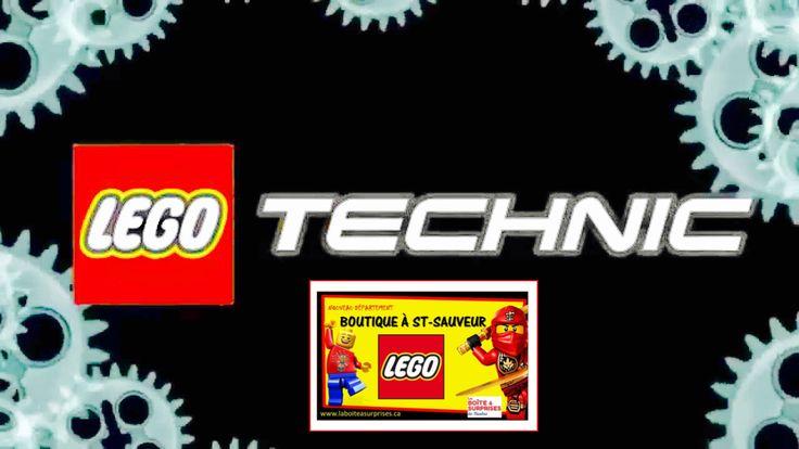 LEGO TECHNIC à St-Sauveur à La Boîte à Surprises de Nicolas Département en boutique Lego Laurentides, Vaste choix + Prix compétitifs! #lego #Saintsauveur